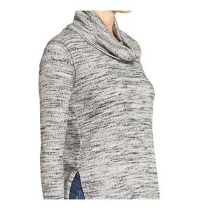 ASTR the Label | Cowl Neck Pullover Knit Top | D43